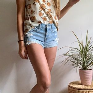 {Abercrombie & Fitch} Jean shorts